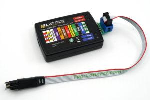 TC-LATTICE Adapter with Lattice HW-USBN-2B debugger and TC2030-IDC-NL cable