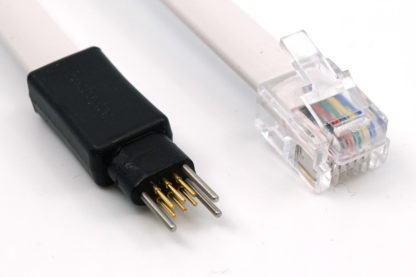 TC2030-NL no legs cable to RJ12 cable for Microchip ICD