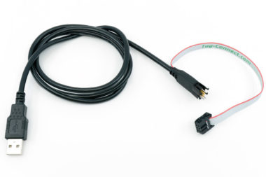 TC2050-PGUSB cable USB to 10 pin Plug-of-Nails and 6 pin IDC