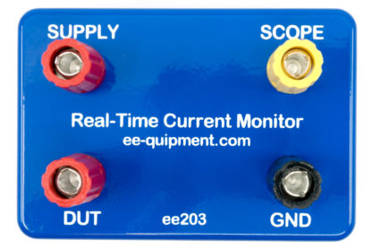 ee203 real time current monitor with USB front view