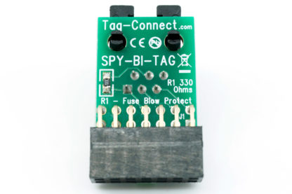 SPY-BI-TAG adapter for MPS430 MCU spy-bi-wire JTAG - reverse