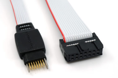 TC2070 14-pin Plug-of-Nails™ to 14-pin IDC - connectors view