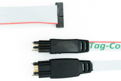 TC2030-CTX-ETM 20 pin ARM cortex cable for SWM with extra 10 pin plug-of-nails
