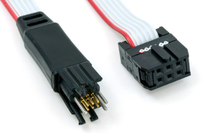 TC2030-IDC 6-pin plug-of-nails to IDC programming/debug cable connector ends