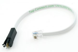 TC2030-MCP programming cable, 6 pin plug-of-nails to RJ12 for Microchip ICD