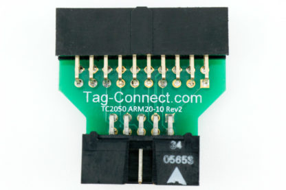 TC2050-ARM2010 adapter for ARM JTAG & SWD - front view