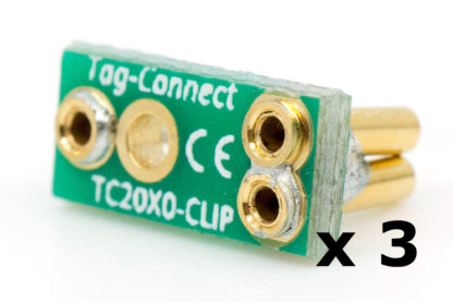 TC2050-CLIP-3PACK retainer for TC2050 connectors