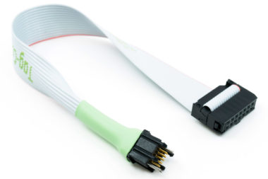 TC2050-IDC-430 cable with 10 pin plug-of-nails and 14 pin IDC for MSP430 debug