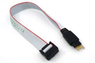 TC2050 10-pin Plug-of-Nails™ to 10-pin IDC