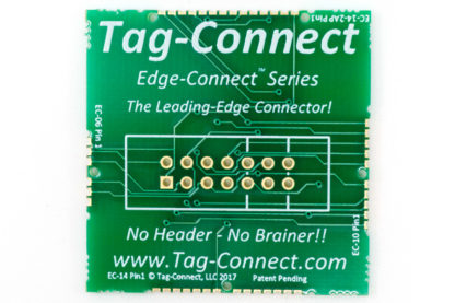 Edge-Connect demo PCB for near zero board space connections