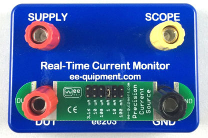 ee-1205 precision current source on ee-203 real time current monitor