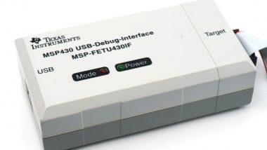 MSP-FETU430 debugger programmer MSP-FET430UIF