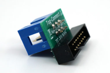 TC-XILINX6-M adapter for 2mm 14-pin IDC female found on Digilent JTAG-HS2 and HS3