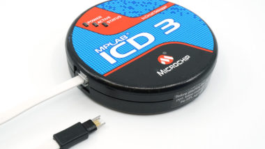 MPLAB ICD 3 programmer with TC2030-MCP debug cable