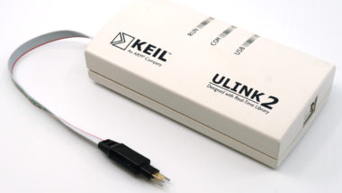 ARM Keil ULINK2 with TC2030-CTX-NL Plug-of-Nails programming cable