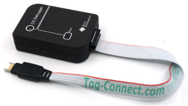 TI CC Debugger with TC2050-IDC-NL debug cable