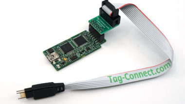 TI XDS100V2 debugger with TC-C200-M adapter and TC2050-IDC-NL cable