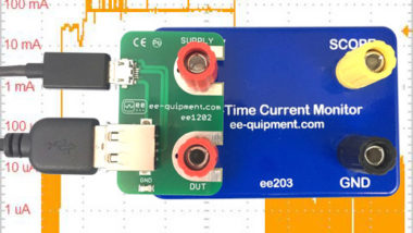Real time current monitor with USB break-out