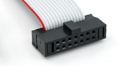 "STDC14 14 pin 0.05"" pitch debug connector"