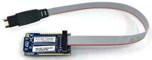 ST-Link V3 Mini with TC2050-IDC-050-STDC14 10 pin programming cable