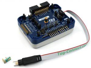 STLink-v3SET with TC2030-CTX-NL-STDC14 debug cable