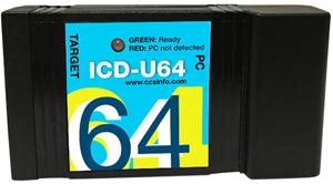 CCS ICD-U64 Programmer