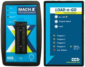 CCS Mach K programmer and Load-n-go programmer