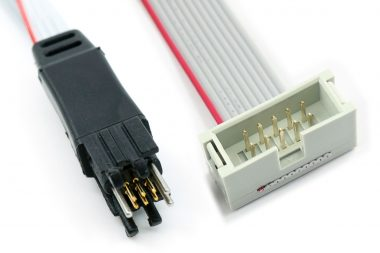 TC2030-ALT-M 6-pin programming cable for Altera ByteBlaster where existing cable is not unpluggable
