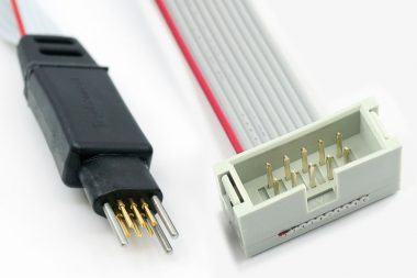 TC2030-ALT-NL-M no-legs 6-pin cable with male IDC for Altera USB Blaster and ByteBlaster
