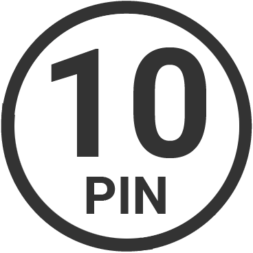 10 pin target connector