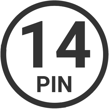 14 pin target connector